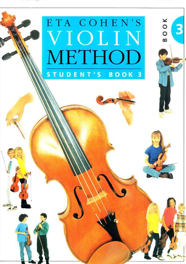 eta cohen violin method student bk3