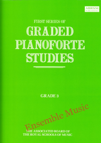 first series of graded pianoforte studies grade 3