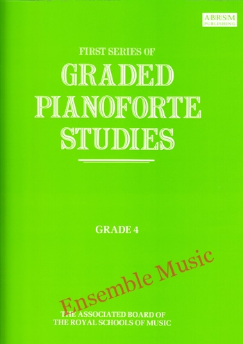 first series of graded pianoforte studies grade 4
