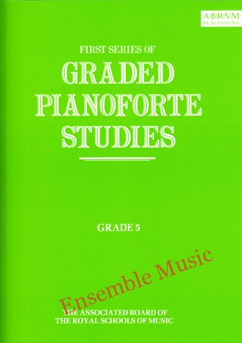 first series of graded pianoforte studies grade 5