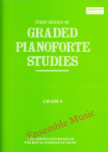 first series of graded pianoforte studies grade 6