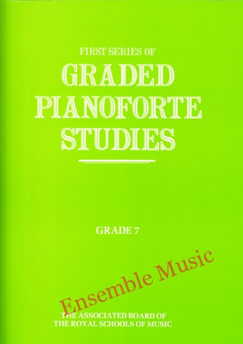 first series of graded pianoforte studies grade 7