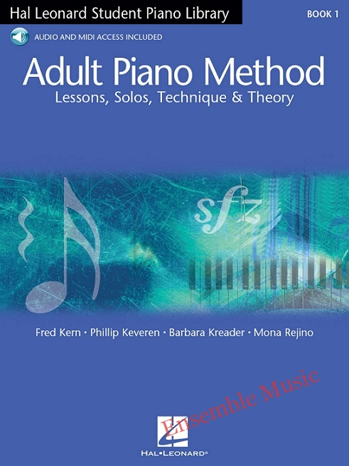 hal leonard adult piano method book audio