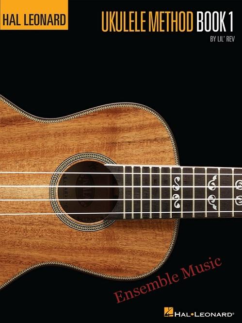 hal leonard ukulele method book 1 no CD