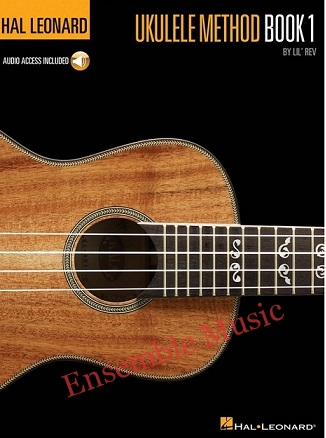 hal leonard ukulele method book 1 with audio