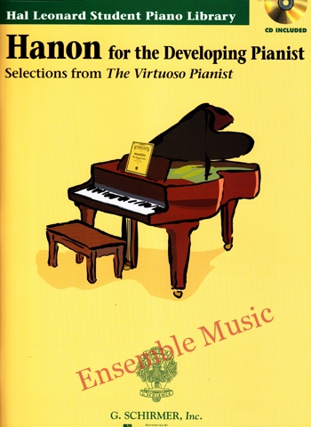 hanon for the developing pianist CD