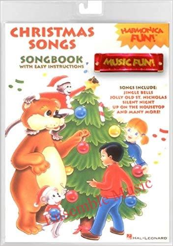 harmonica fun christmas songs hal leonard