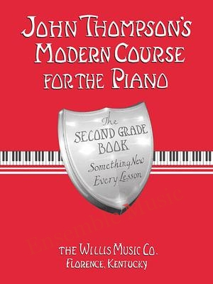 john thompson modern course for the piano second