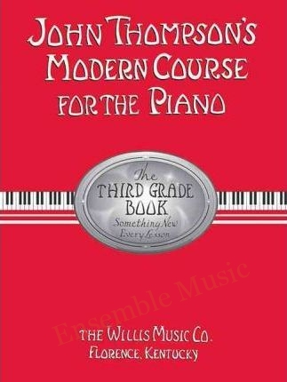 john thompson modern course for the piano third
