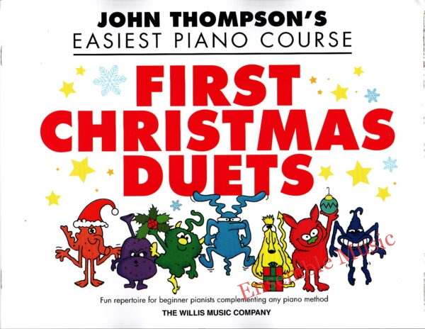 john thompsons easiest piano course first christmas duets