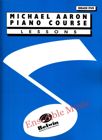 michael aaron piano course lessons grade five