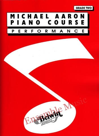 michael aaron piano course performance grade two