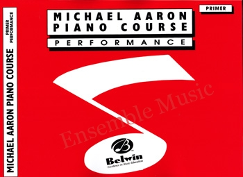 michael aaron piano course performance primer
