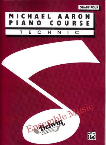 michael aaron piano course technic grade four