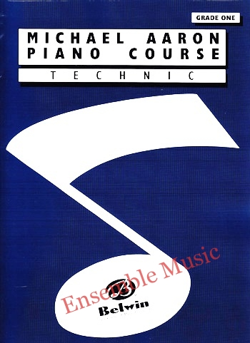 michael aaron piano course technic grade one