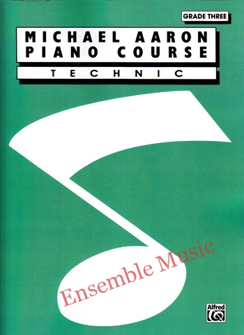 michael aaron piano course technic grade three