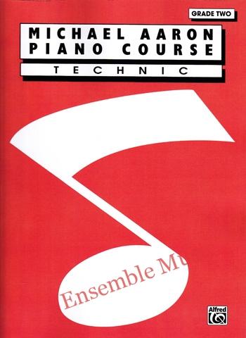 michael aaron piano course technic grade two