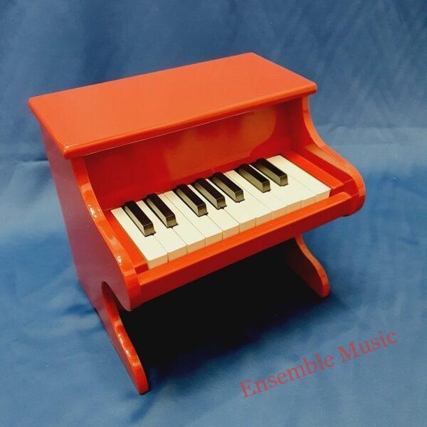 Mini piano red