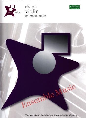 music medals platinum violin