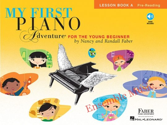 my first piano adventures lesson a audio