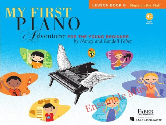 my first piano adventures lesson b audio