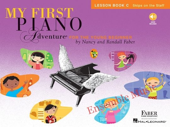 my first piano adventures lesson c audio