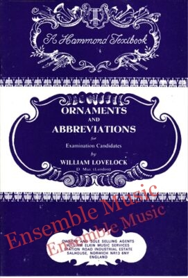 ornaments and abbreviations for examinations candidates hammond texbook