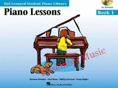 piano lesson book 1