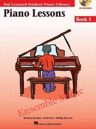 piano lessons book 5 cd