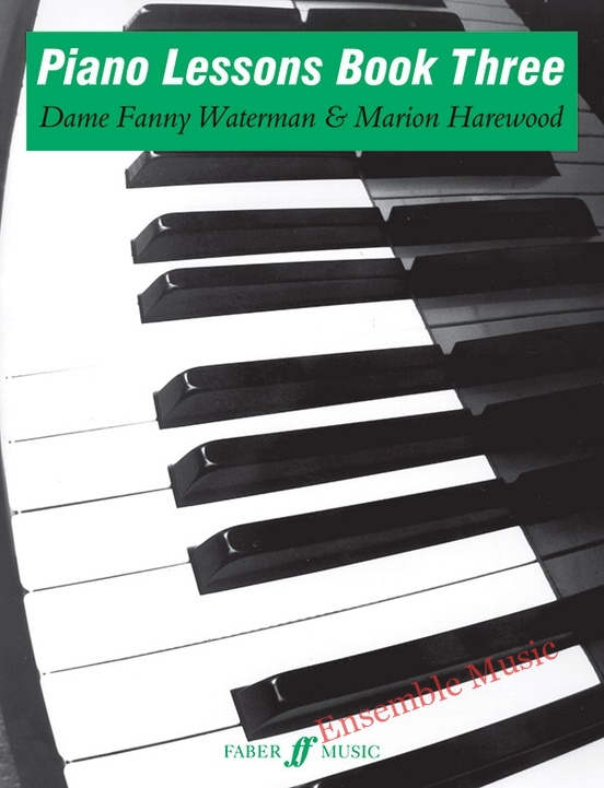 piano lessons book three with fanny waterman
