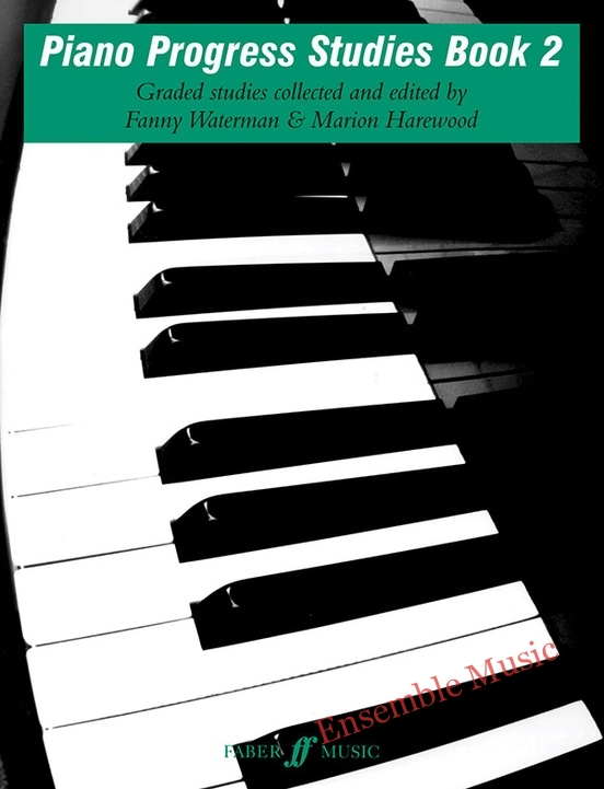 piano progress studies book 2 graded studies collected and edited by fanny watermman and marion harewood