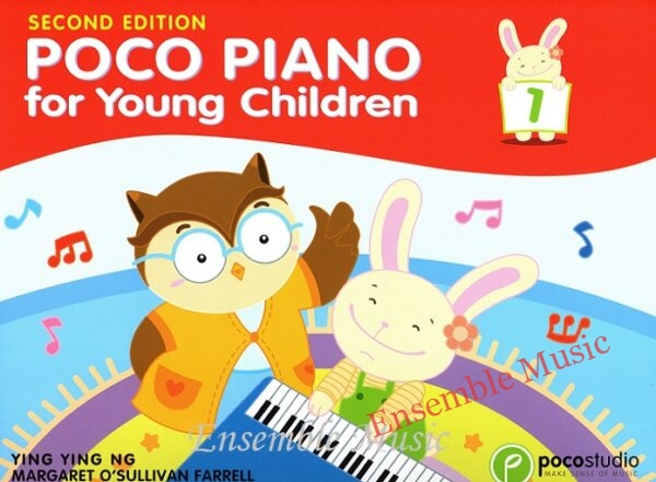 poco piano for young children 1 second edition