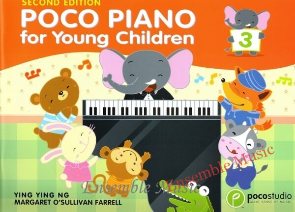 poco piano for young children 3 second edition