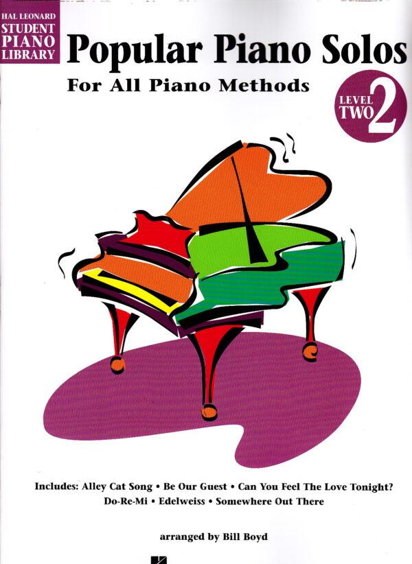 popular piano solos level 2