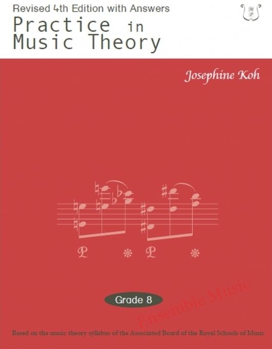 practice in music theory 8 4th edition