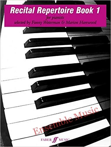 recital repertoire book 1