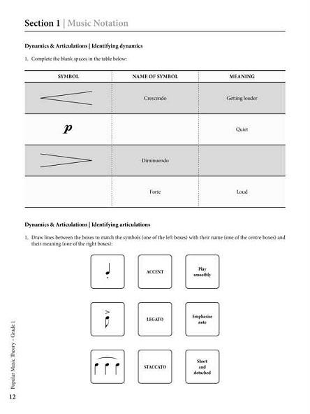 rockschool popular music theory workbook pg2