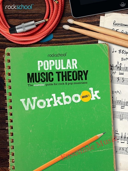 rockschool popular music theory workbook