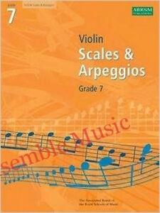 scales and arpeggios violin grade 7