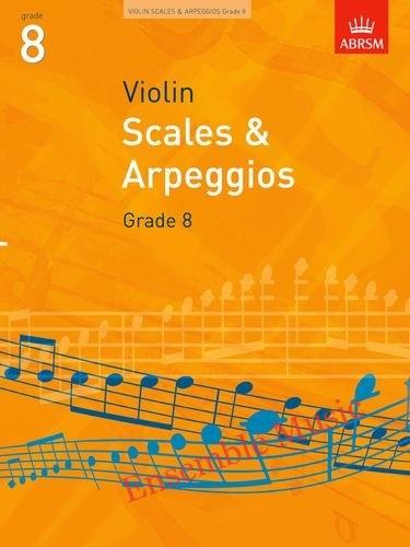 scales and arpeggios violin grade 8