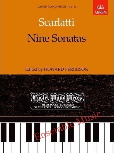 scarlatti nine sonatas 60