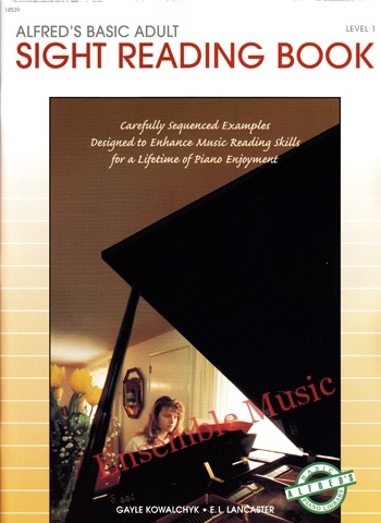 sight reading book 1 alfred basic adult