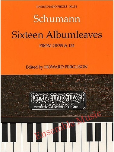 sixteen albumleaves op99 and 124 no54