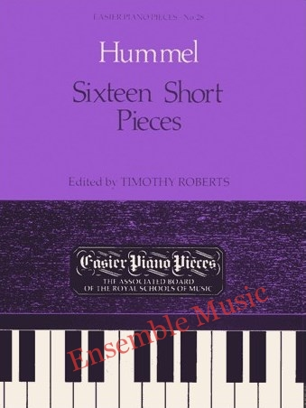 sixteen short pieces 28