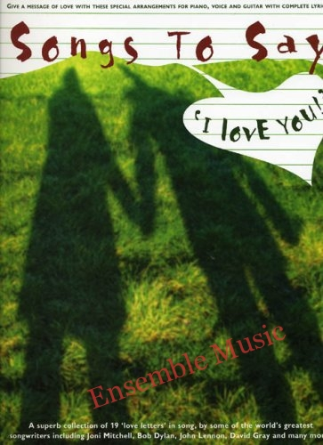 songs to say i love you