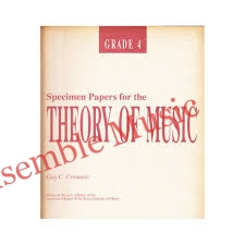 specimen papers for the theory grade 4