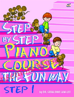 step by step piano course 1