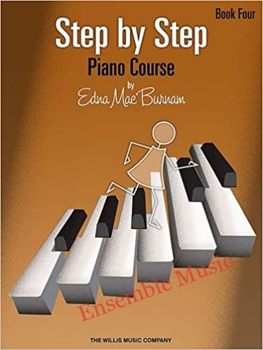 step by step piano course book four