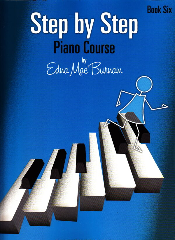 step by step piano course book six