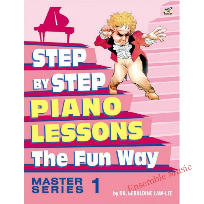 step by step piano course master 1